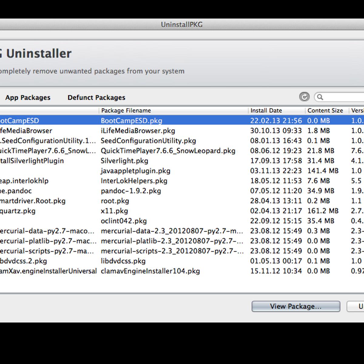 UninstallPKG Alternatives and Similar Software - AlternativeTo net