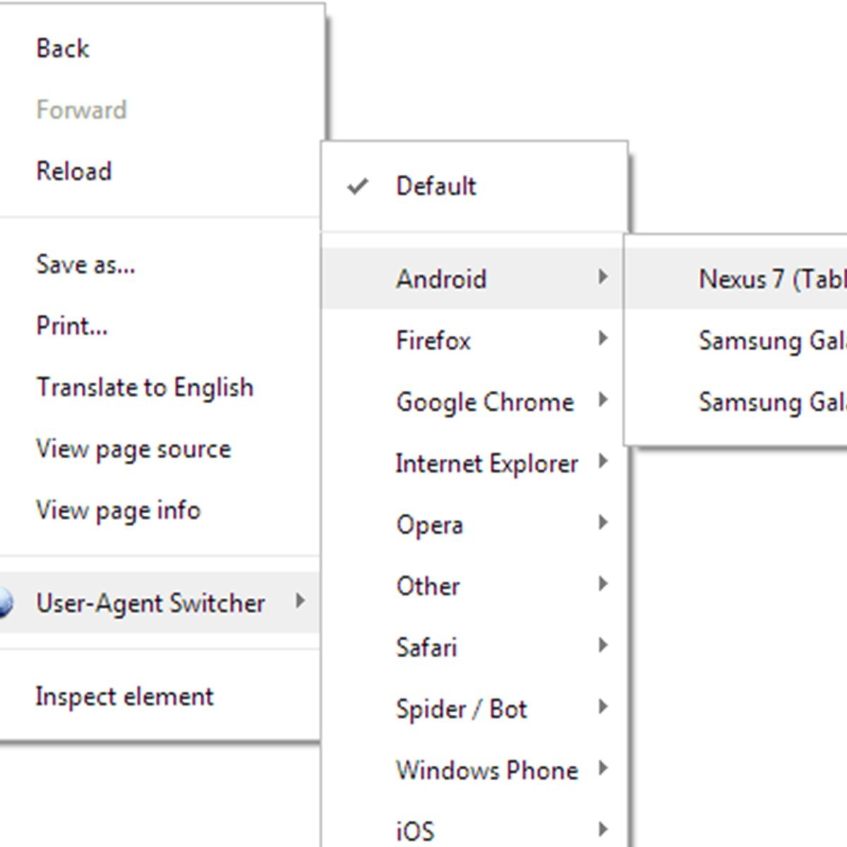 User-Agent Switcher Alternatives and Similar Software