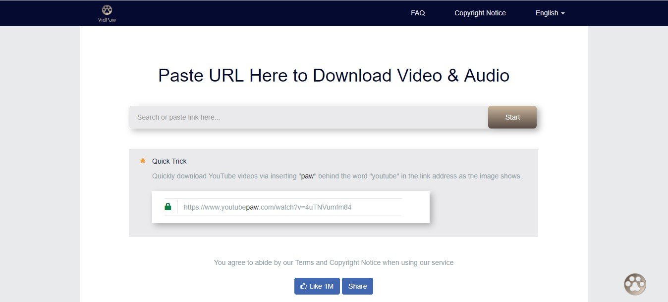 search video download website