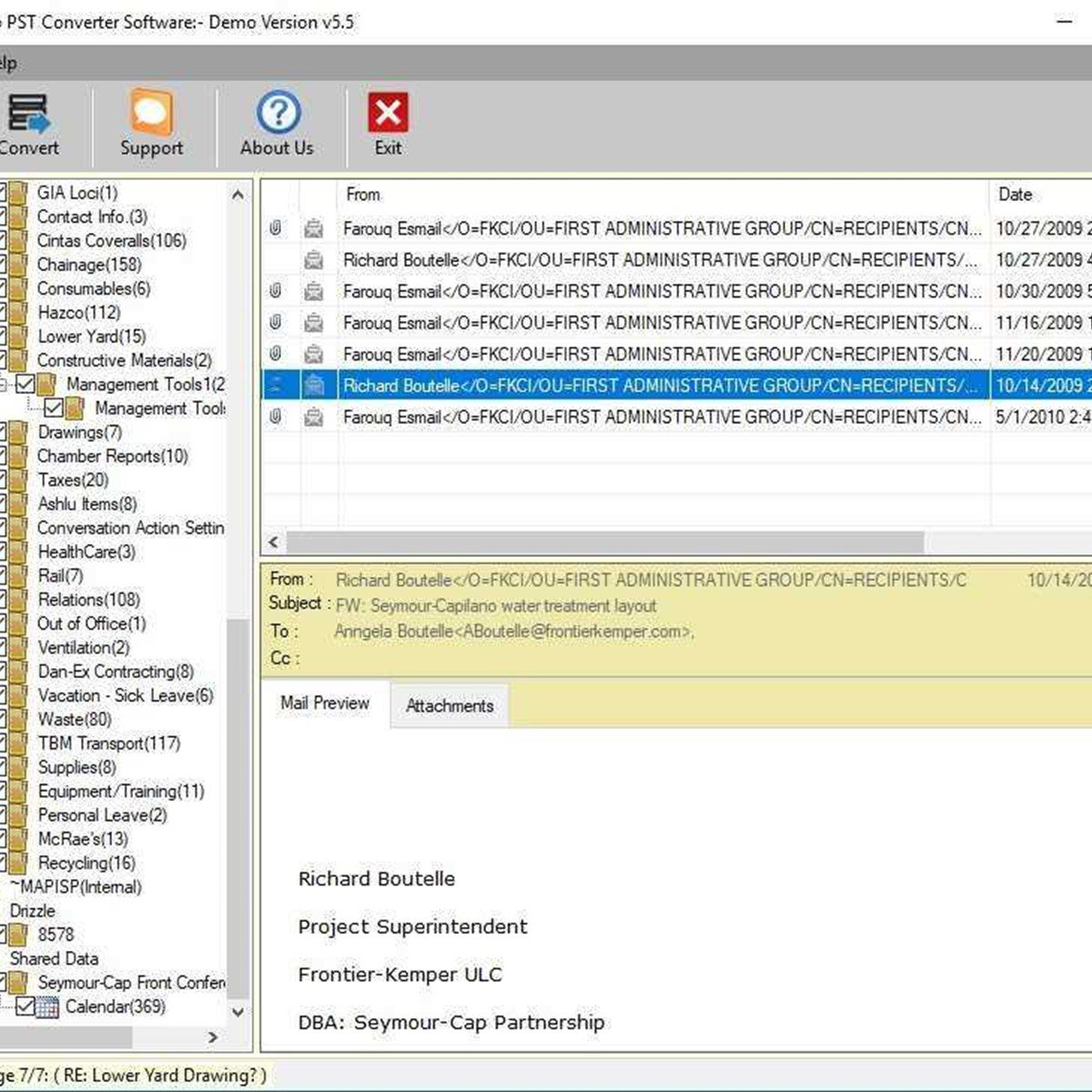 vMail OST to PST converter Alternatives and Similar Software