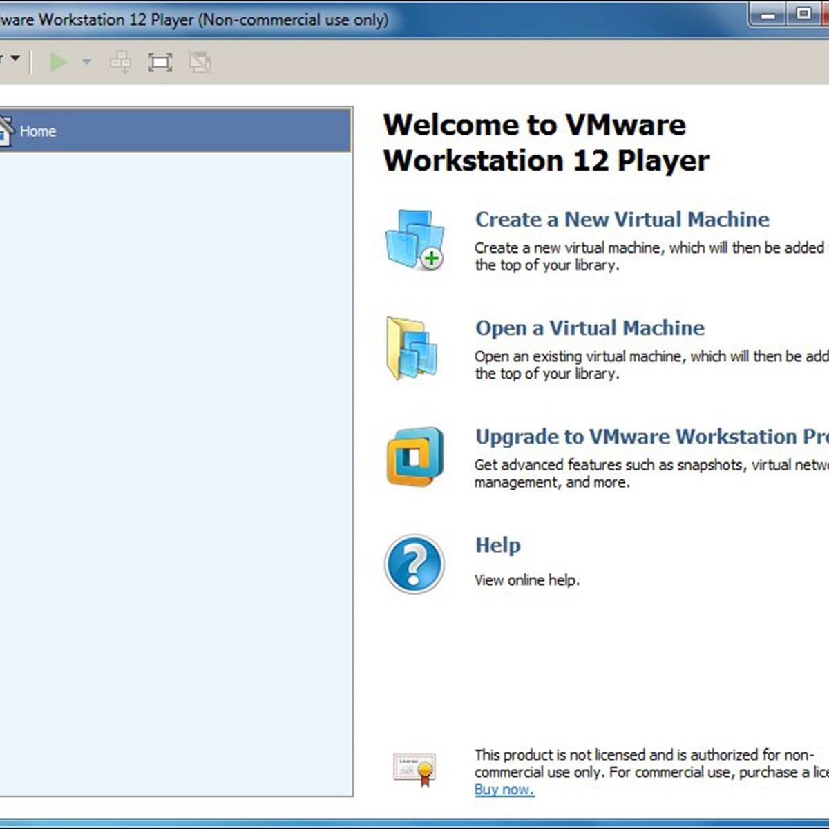 vm workstation player free