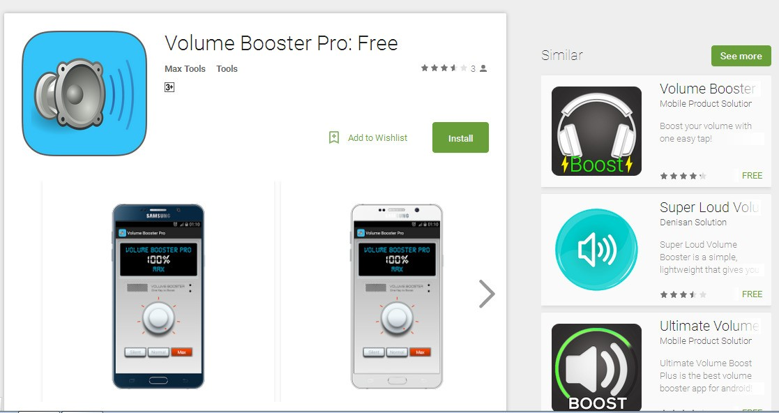 Volume Booster Pro Alternatives and Similar Apps