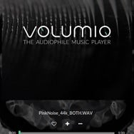 Mobile Main page of Volumio