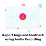 Add Clarity to your bug reporting by Adding voice to your video icon