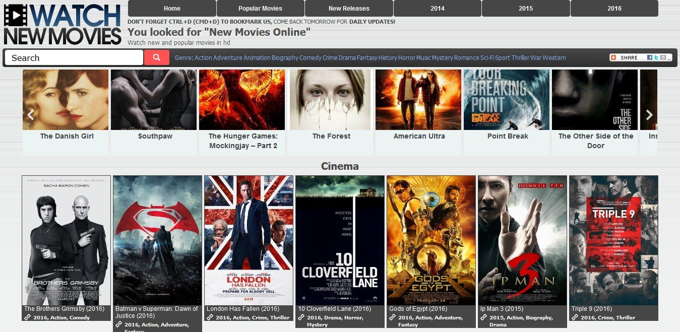 Watch New Movies Alternatives and Similar Websites and Apps - AlternativeTo.net