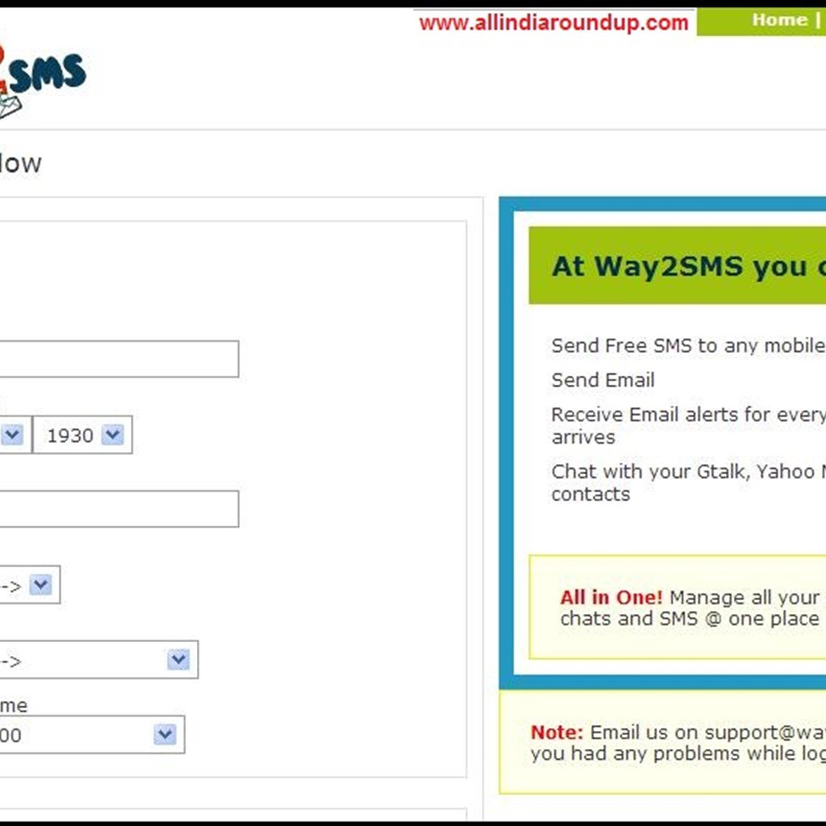 Way2SMS Alternatives and Similar Apps and Websites