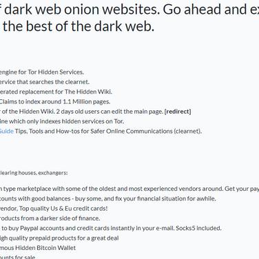 Hidden websites proxy