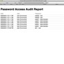 Password Access Audit Report icon