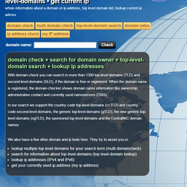 Website Owner Lookup >> Whois Check Domain Net Alternatives And Similar Websites And