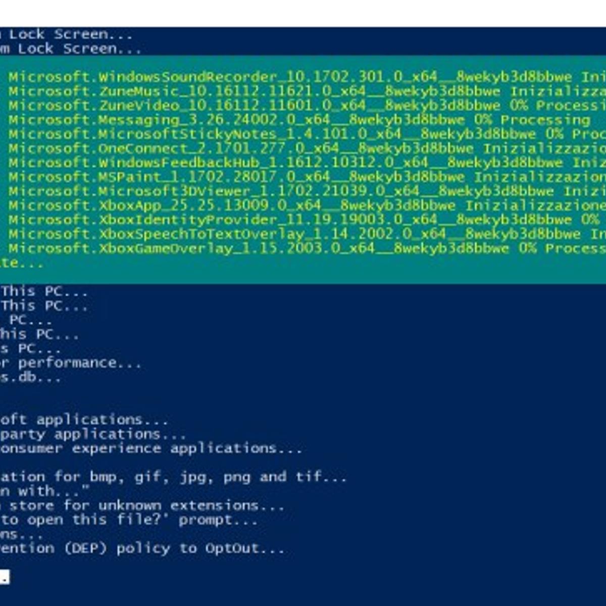 Win10-Initial-Setup-Script Alternatives and Similar Software