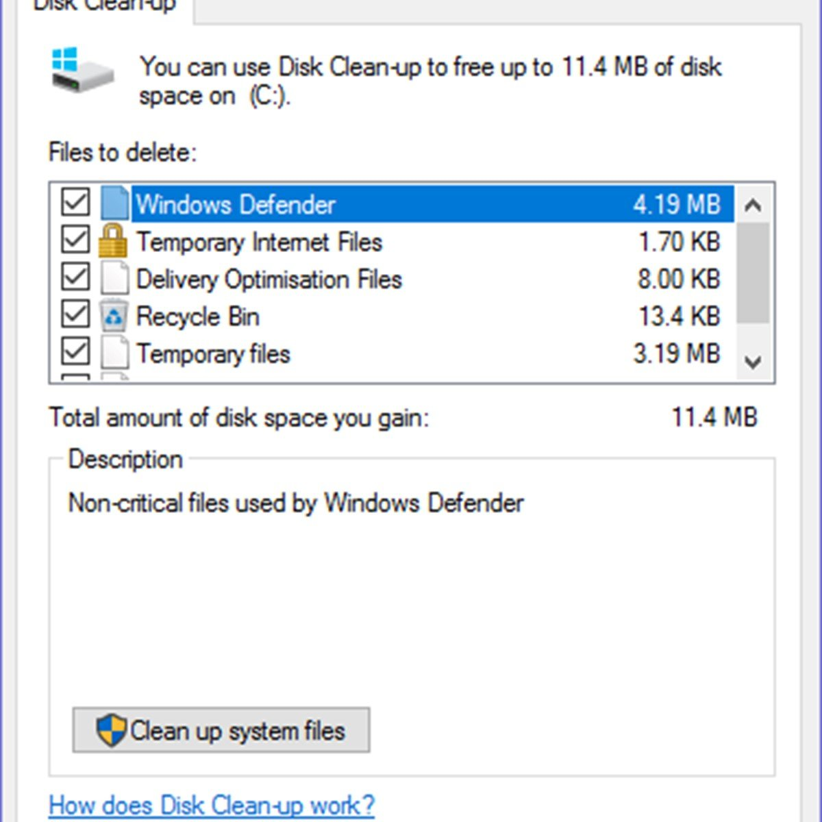 disk cleanup mac equivalent