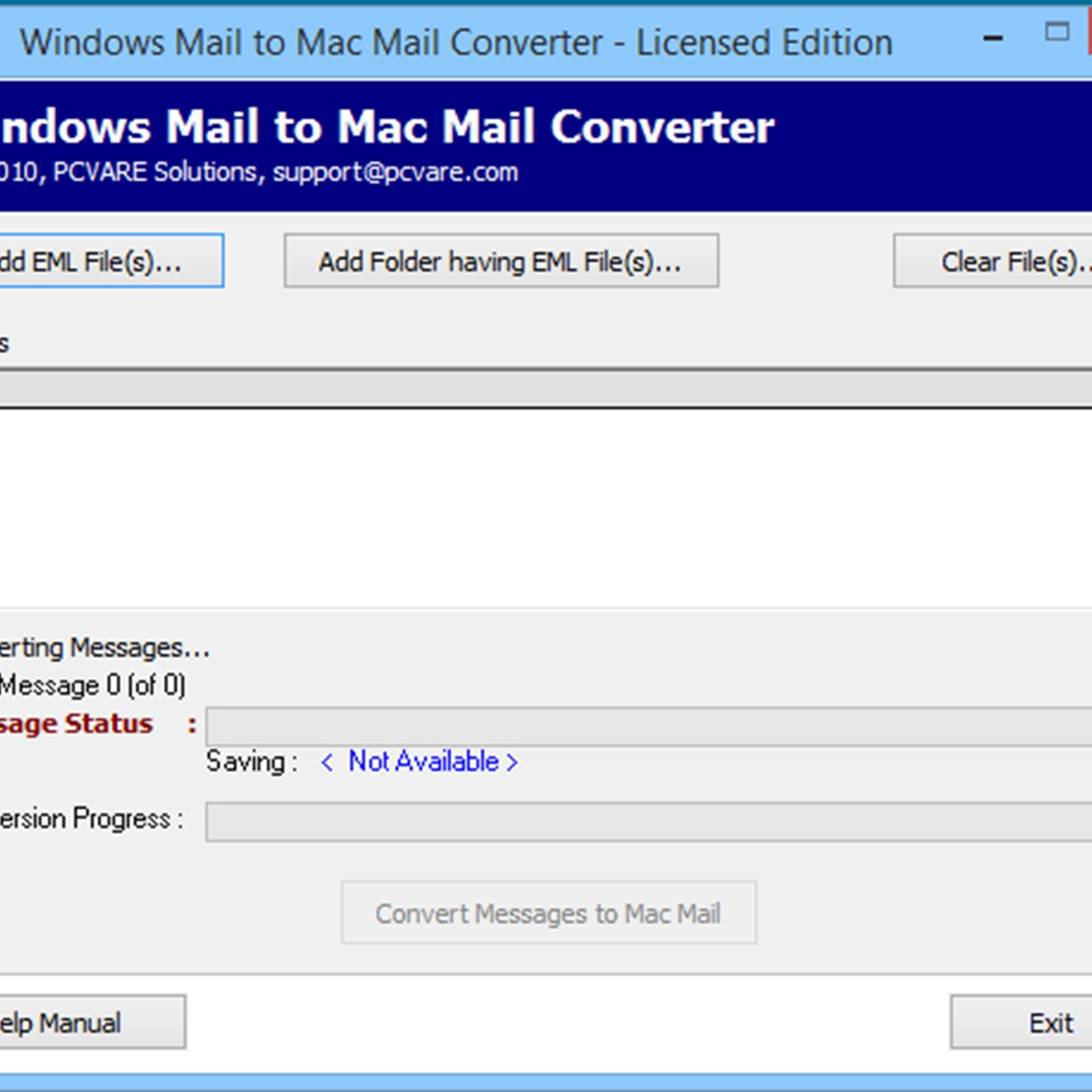 Windows Mail To Mac Mail Converter download for windows 10