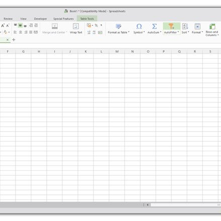 Spreadsheet 2016 on Windows