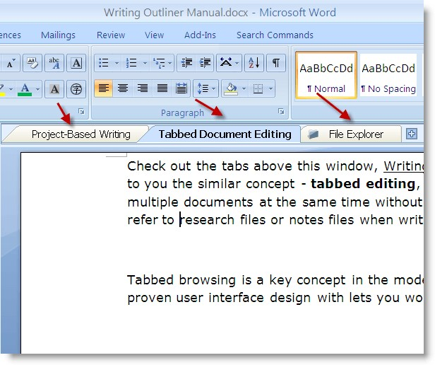 writing outliner alternatives and similar software With editing a documents