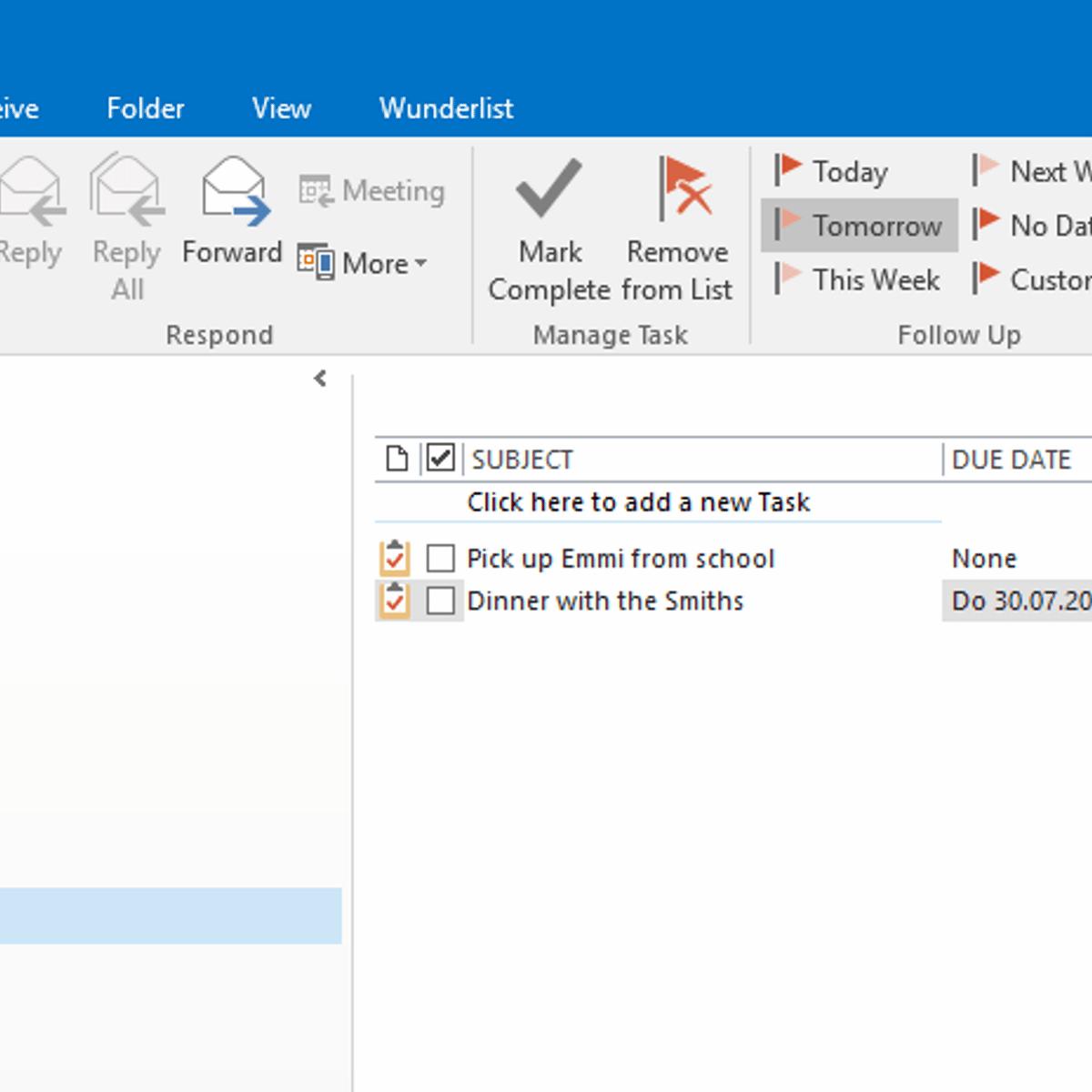Wunderlist for Outlook Alternatives and Similar Software