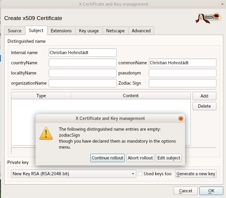 Xca X Certificate And Key Management Alternatives And Similar