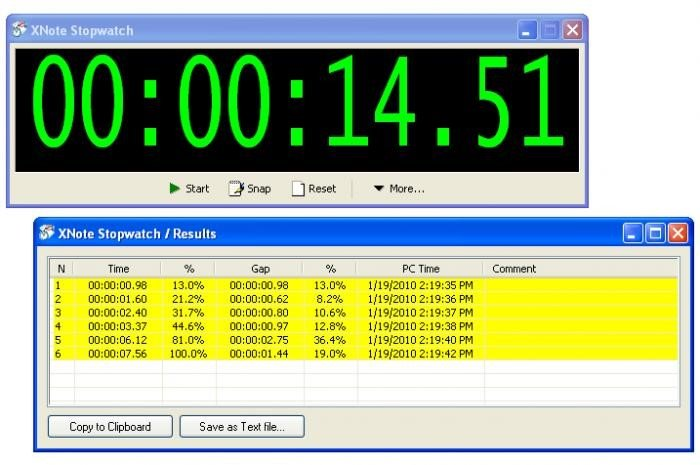 XNote Stopwatch Alternatives and Similar Software