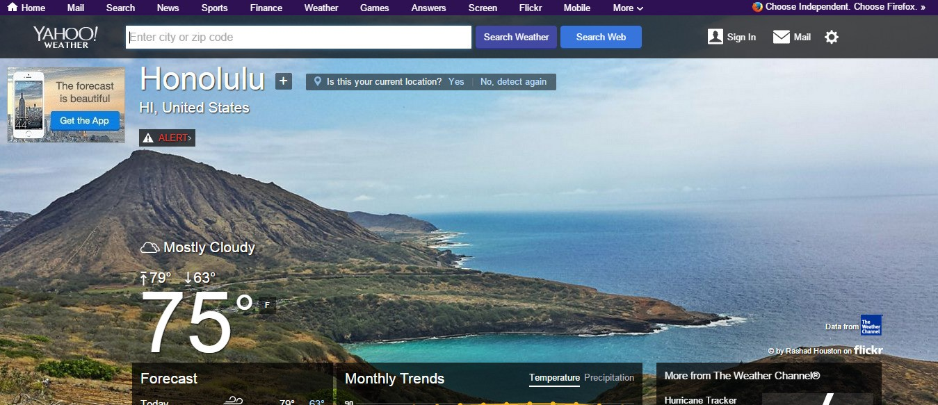 Yahoo! Weather Alternatives and Similar Apps and Websites