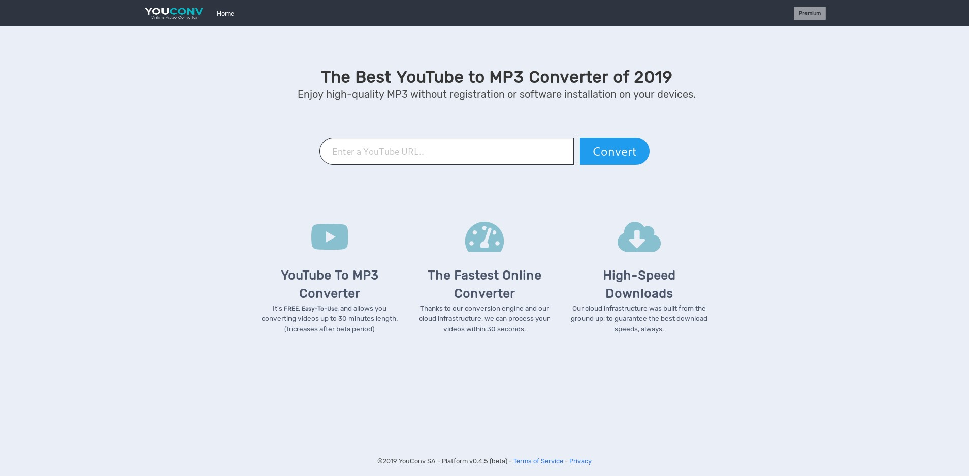 YouConv - YouTube to MP3 Converter Alternatives and Similar