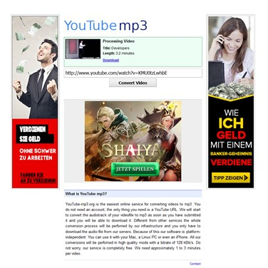 youtube-mp3 my Alternatives and Similar Websites and Apps