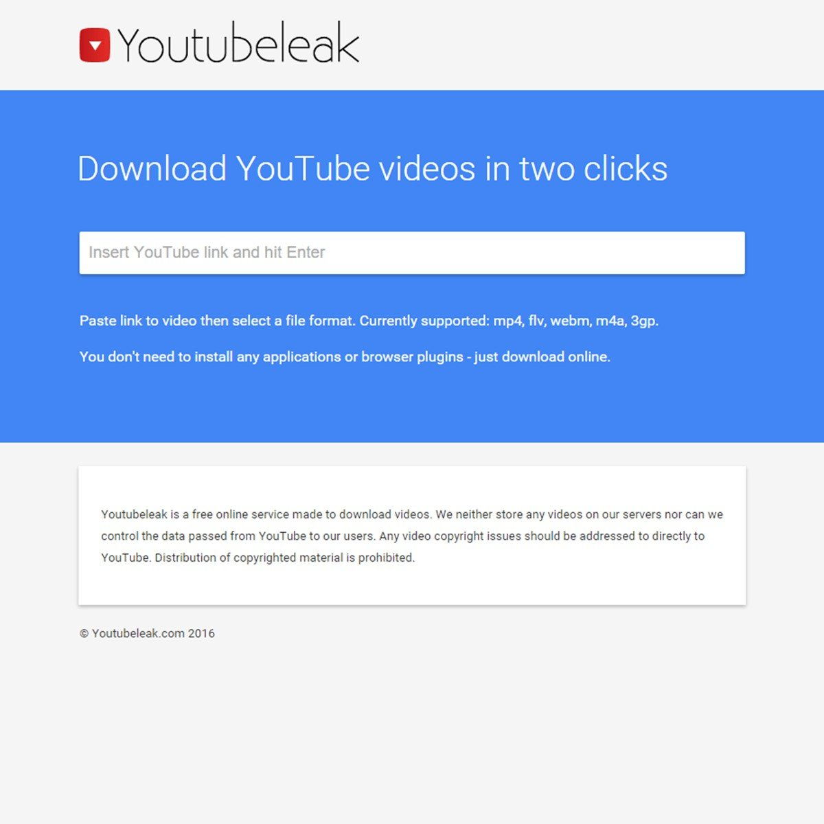 Youtubeleak com Alternatives and Similar Websites and Apps