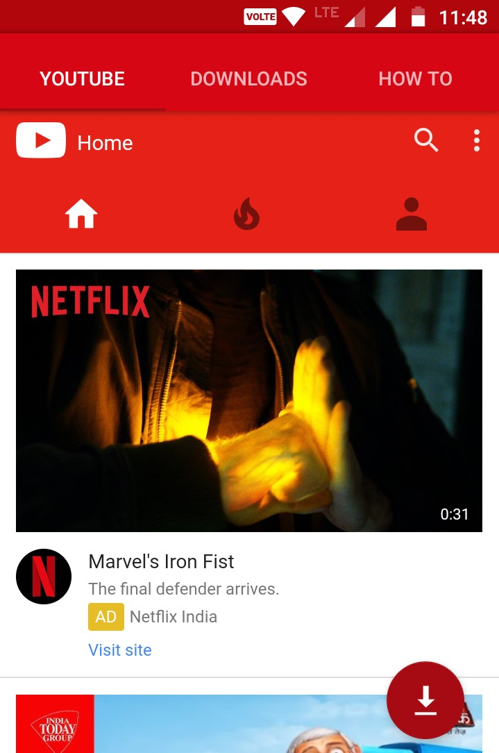 YouTube 130755 Latest for Android - Download