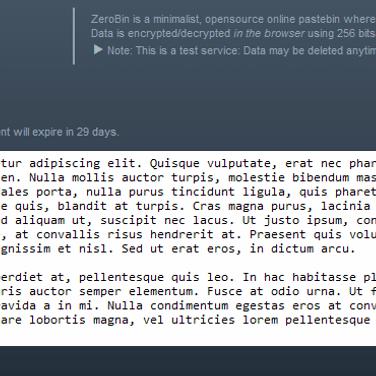 ZeroBin Alternatives and Similar Websites and Apps - AlternativeTo net